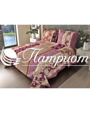 КПБ 1.5 спальный Ажур, фиолетовый, набивная бязь 142 гм2 304-2